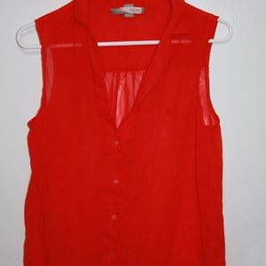Forever 21 M Red Blouse